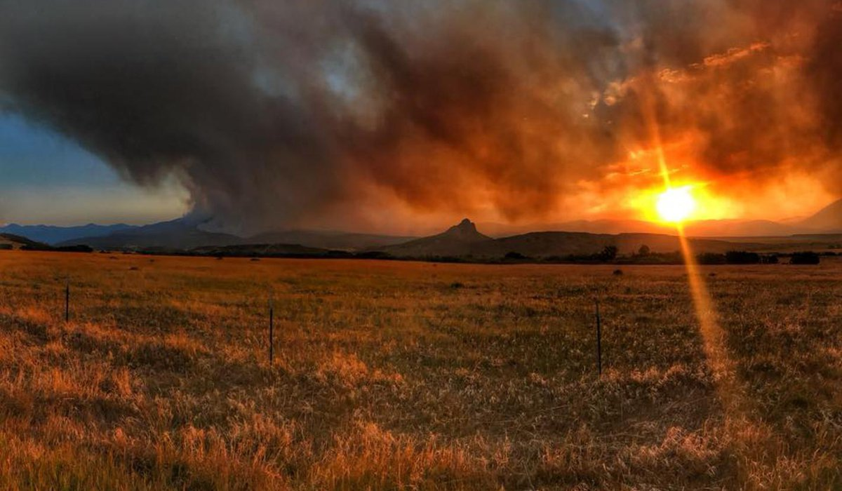The Spring Creek Fire Burned a Total of 108,045 Acres